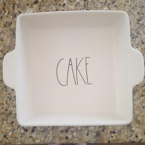 NWT Rae Dunn Square Cake Dish
